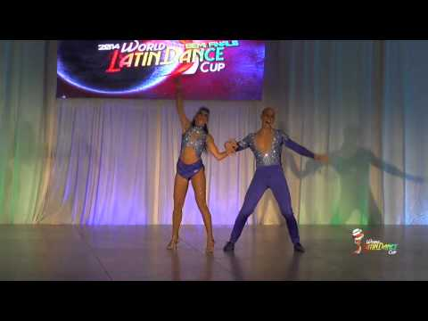 ISAIA LEONI & SISSI MEI, ITALY, SALSA ON 2, SEMIFINAL ROUND, WLDC 2014