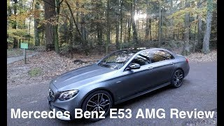 2018 Mercedes E53 AMG SEDAN - Exterior, interior review, exhaust