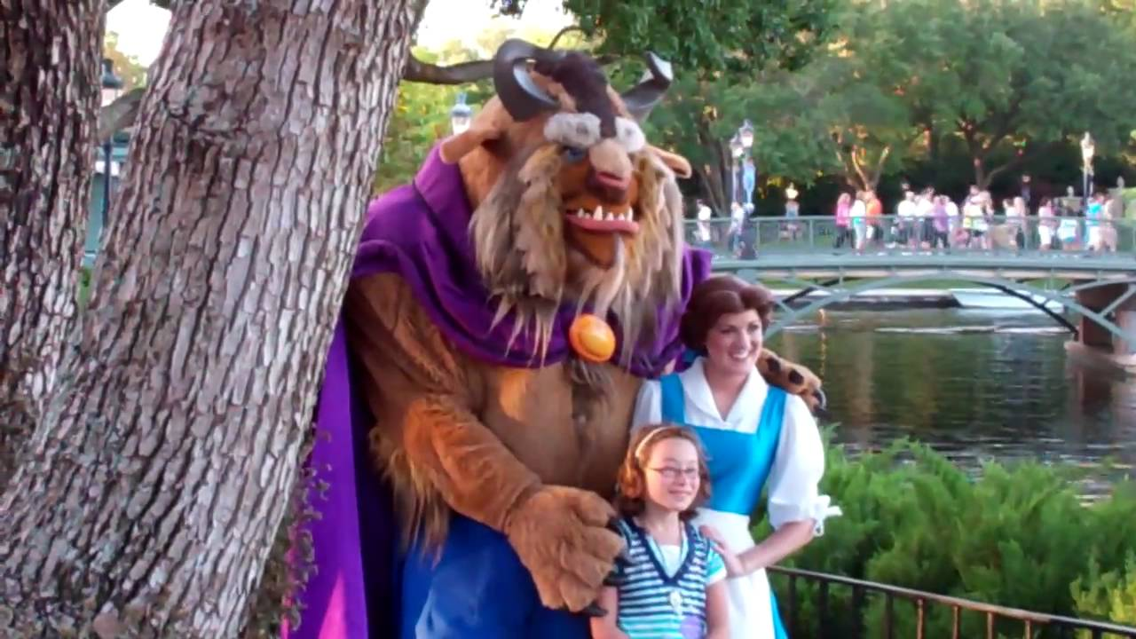 Belle And Beast Disney World Youtube