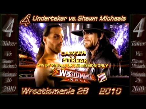 Undertaker Top 10 - Best Matches video