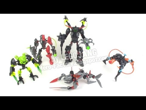 LEGO Hero Factory Breakout wave 1 Villains recap