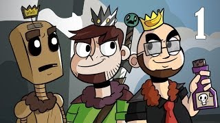 The Three Conquistadors: Crusader Kings II feat. Northernlion and Arumba - Episode 1