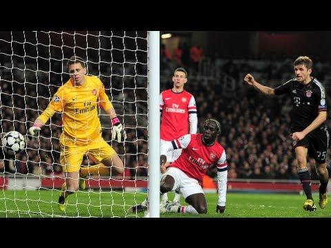 Arsenal 1-3 Bayern Munich