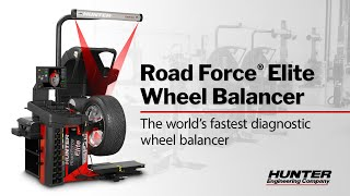 Road Force® Elite Diagnostic Wheel Balancer from Hunter Engineering