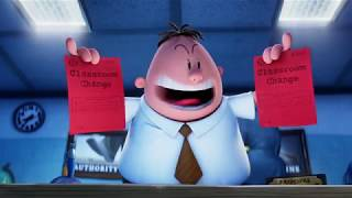 Captain Underpants The First Epic Movie - ALL MOVIE CLIPS