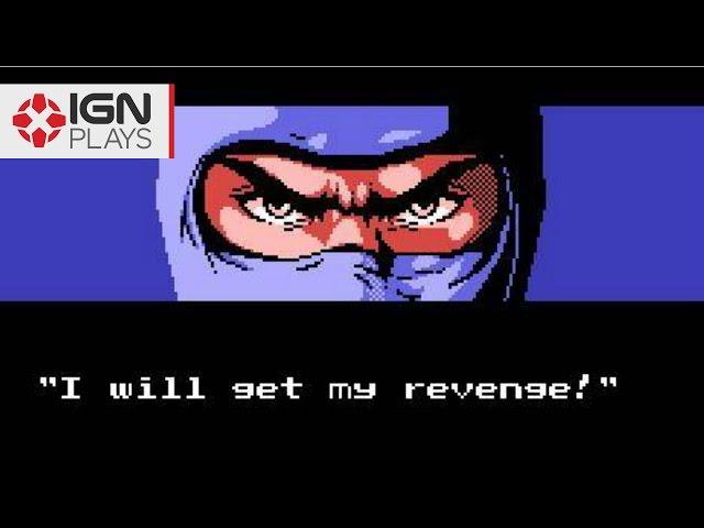 Totally Rad '80s Ninja Action: Ninja Gaiden (NES 1988)  - IGN Plays Classics