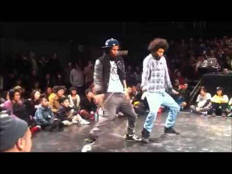 image Silly shuffle hip hop dance in high heels