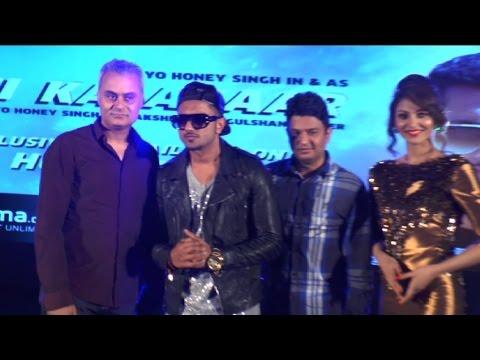 Grand Launch Of Yo Yo Honey Singh's New Album 'desi Kalakaar' video