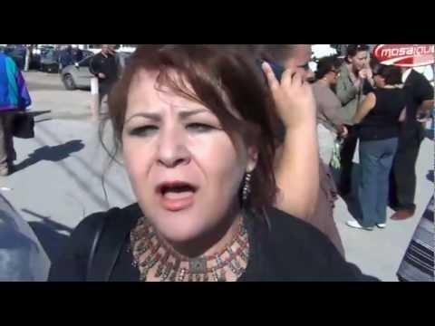 image vid�o وقفة لمساندة عميد كلية الآداب بمنوبة الحبيب القزدغلي
