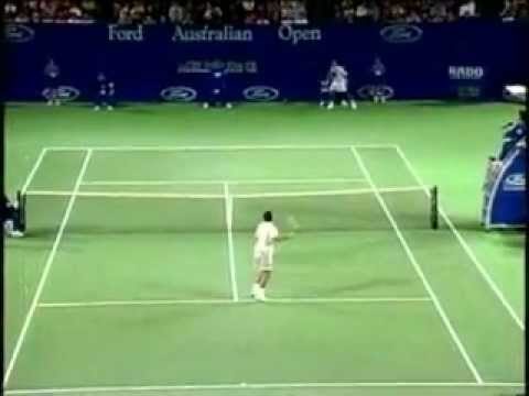 Pete Sampras great shots selection against Mark Philippoussis in Australian Open 1996 3rd round. Philippoussis won 6:4, 7:6(9), 7:6(3). Sampras wasted a 3:0,...