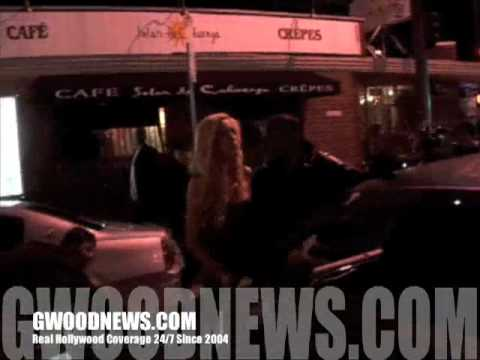 Drunk Girl, Two Cops....Four Firemen...Equals Rampage After The Club. A MUST SEE VIDEO!