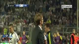 borussia dortmund vs real madrid 4-1 (24/04/2013)