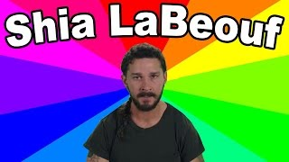 "The meaning of HE WILL NOT DIVIDE US - A look at the ""art"" and memes of Shia LaBeouf"