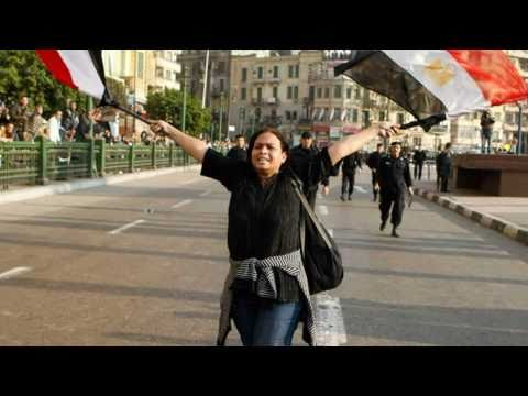 Pictures of Egyptian Revolution 25th January, 2011