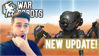 UNLOCKING NEW WEAPONS AND ROBOTS FROM CHESTS! NEW 4.3.0 UPDATE | War Robots!