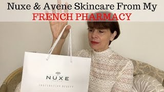 ❤️ My New NUXE & AVENE Skincare From My French Pharmacy ❤️