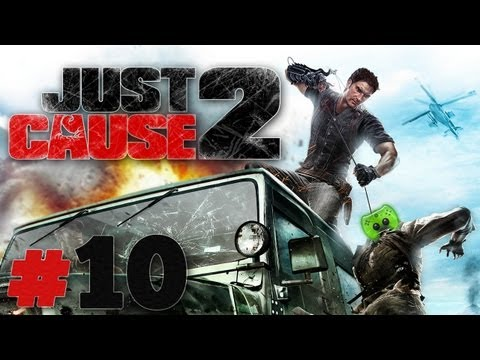 Let's Play Just Cause 2 #10 [Deutsch/Full-HD] - Fliegende Kugeln