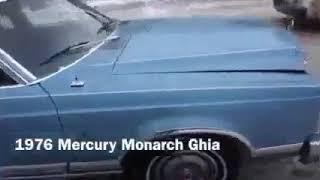 1976 Mercury MONARCH GHIA