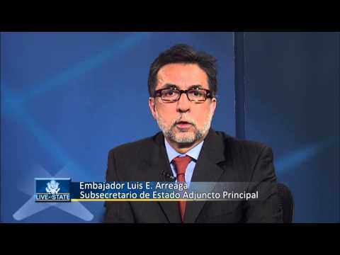 LiveAtState: U.S. Security Policy in Central America (Spanish)