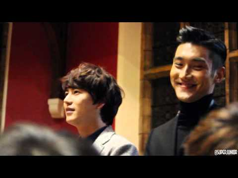 Super Junior Talk At Oxford Uni (intro) video