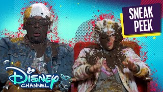 3D Movie Experience | Just Roll With It | Disney Channel