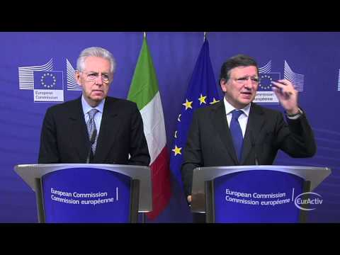 Barroso meets Monti ahead of EU Summit