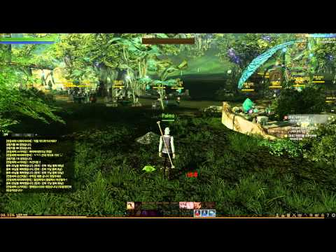 Playing Archeage: English language newbie playing on Korean server