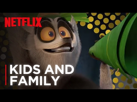 All Hail King Julien - New Year's Eve Countdown - Netflix