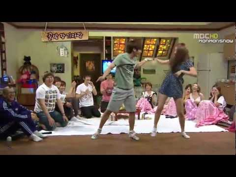 Dance Battle -super Junior, Snsd, F(x)- So Funny video