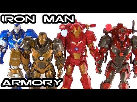 IRON MAN 1 Movie Figures Concept Armory Review: Heavy Variants