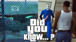 GTA San Andreas Secrets and Facts 14