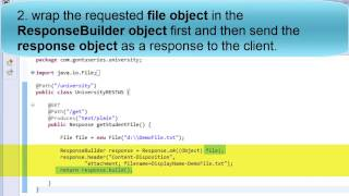 Web Services Part 12 How To Download A File From A RESTful Web Service VideoMp4Mp3.Com