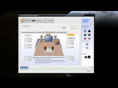 Solucion al problema sonido 5.1 Windows 7 By Gagry