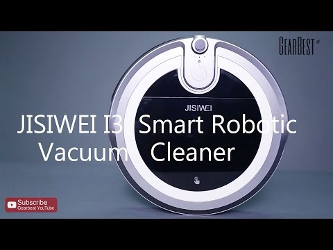 JISIWEI I3 Smart Robotic Vacuum Cleaner - Gearbest.com