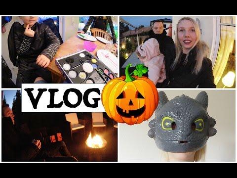 Halloween mit Drache Ohnezahn | Stockbrot am Lagerfeuer | Kinder schminken | Isabeau