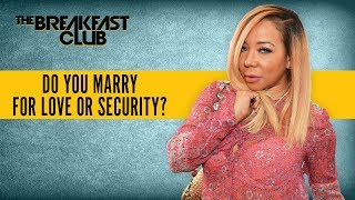 Do You Marry For Love Or For Security?