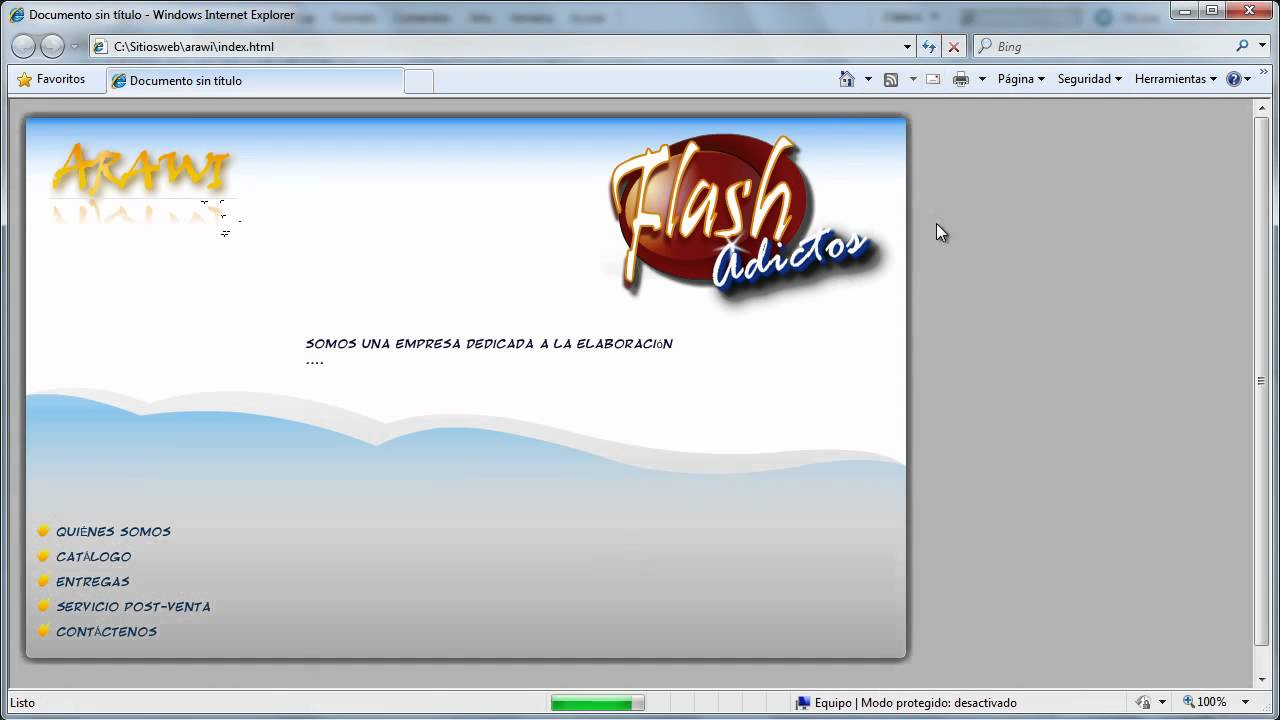 Tutorial Insertar SWF en HTML, Flash & Dreamweaver CS5