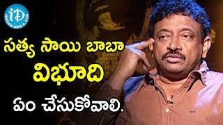 Director Ram Gopal Varma About God Man Claims | Ramuism 2nd Dose