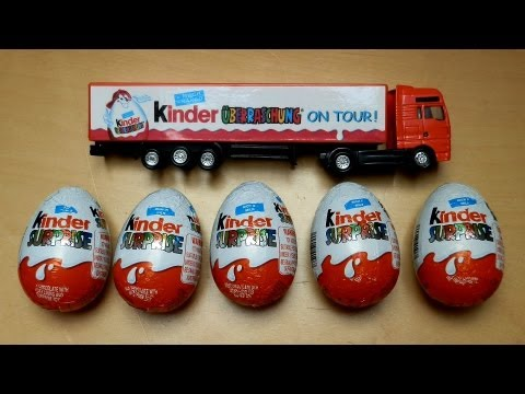 Kinder Surpise Eggs & Truck