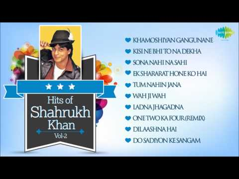 Best Of Shahrukh Khan - SRK Famous Songs - Vol 2
