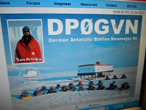DP0GVN-Mr Lars-Neumayer Station-Atka Bay-ANTARCTICA-20:07 utc-12-Oct-2912-20 METERS BAND-