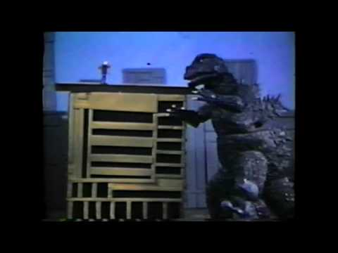 Godzilla Meets Calvin and Hobbs on Monster Island Part 1