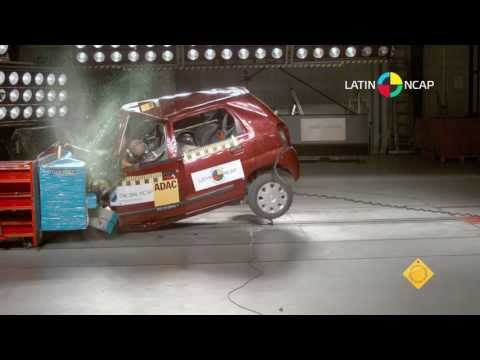 Suzuki Alto K10 2013 Crash Test Latin NCAP - NO Airbags
