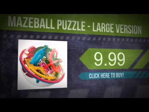 Mazeball Puzzle - Large Version