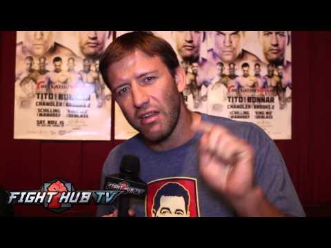Stephan Bonnar says Dana White gave him permission to beat up Tito Ortiz