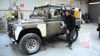 LAND ROVER DEFENDER 90 LHD REBUILD START Part 1