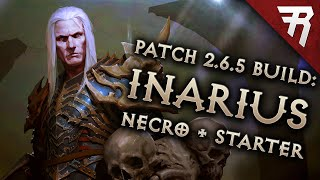 Diablo 3 Season 17 Necromancer Inarius Blood Nova & starter build guide - Patch 2.6.5 (Torment 16)