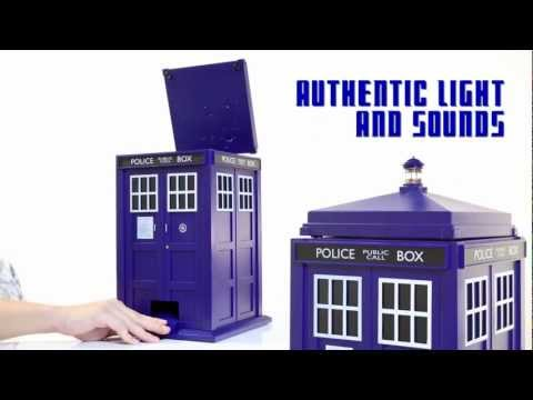 Doctor Who TARDIS Trash Can from ThinkGeek