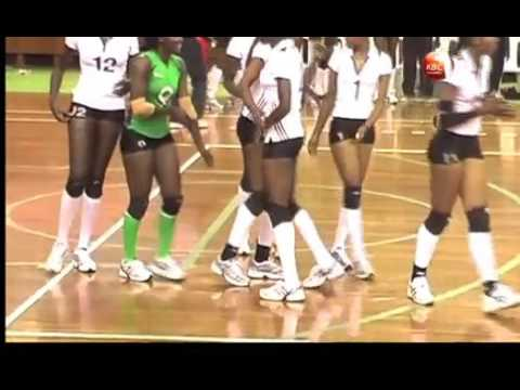 Kenya Prisons Women Volleyball team leaves for Tunisia