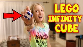 HOW TO MAKE INFINITY CUBE WITH LEGO!!!!!